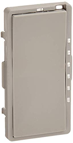 Leviton DRKDD-1LG Color Change Kit For Mural Dimmer, Gray ()