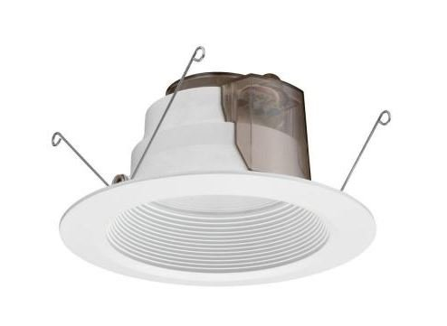 6 in. White Recessed LED Baffle Downlight (Lithonia Recessed Lighting)