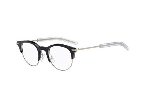Christian Dior Homme Eyeglasses 0202 G6S Grey Light Gold Frame 46-20-145 ()