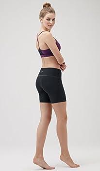 "Tesla Tm-fys11-blk_small Shorts 7"" Bike Running Yoga W Hidden Pockets Fys11 7"