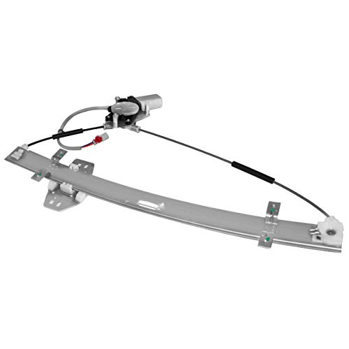 (Front Right Passenger Side Power Window Regulator with Motor Compatible for 1999-2004 Honda Odyssey Replace # 741-011 72210S0XA04)