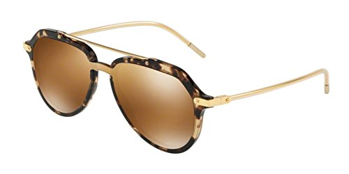 PRINCE BEIGE Lunettes HAVANA Dolce Gabbana 4330 DG Soleil amp; de GOLD homme BROWN C1xqgC