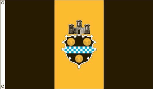 City Pittsburgh Flag (Pittsburgh 2ft. X 3ft. Nylon Flag)
