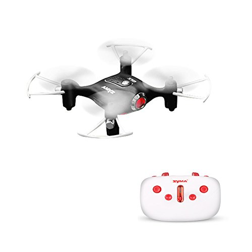 SYMA-X20-Pocket-Drone-24G-4CH-6Aixs-Altitude-Hold-Mode-One-Key-Tak-offLanding-RC-Quacopter-RTF-Black