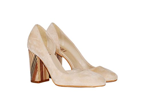 Hohe Pumps Decollete aus Leder Damen RIPA shoes - 50-35931