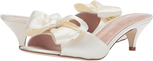 shop offer cheap sale reliable Kate Spade New York Women's Plaza Heeled Sandal Ivory Satin free shipping in China KABobZM1kO