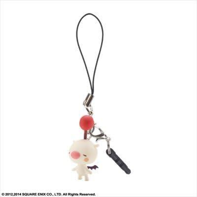 Theatrhythm Final Fantasy Cell Phone Charm Moogle w//Earphone Jack New