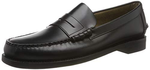 Sebago Men's Classic Loafer,Black,8.5 E US (Sebago Shoes Classic)