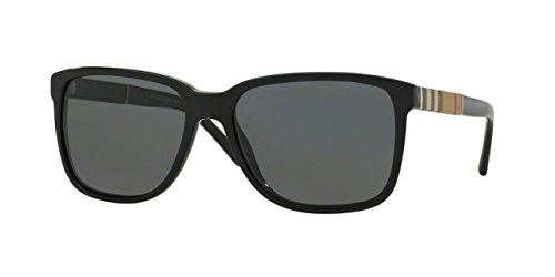 Burberry+BE4181+Sunglasses+300187-58+-+Black+Frame%2C+Gray