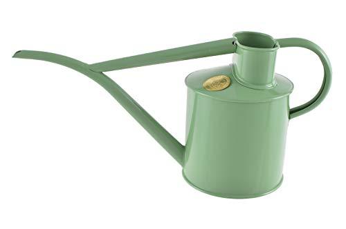 155-2 Haws Indoor Metal Pot Waterer - 2 Pint - Sage Green