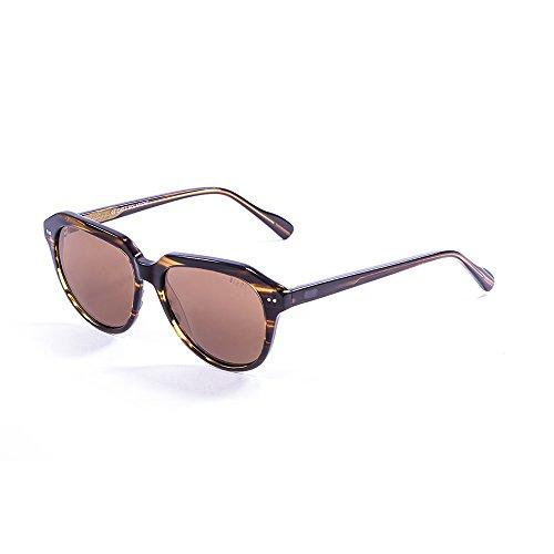 Ocean Sunglasses Classic II Lunettes de Soleil Mixte Adulte, Demy Brown