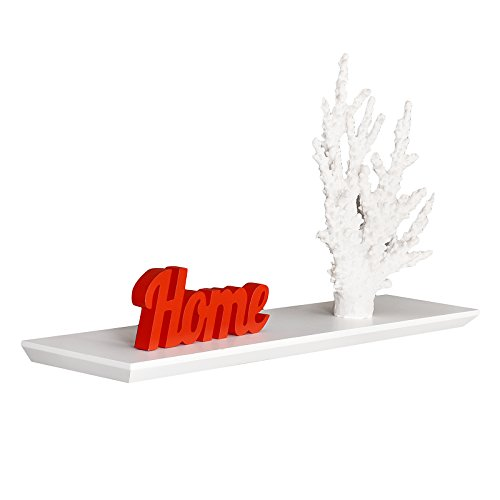 Review WELLAND Floating Wall Shelf , Oliver White Floating Shelf (White, By WELLAND by WELLAND