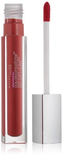 Maybelline New York Color Sensational High Shine Gloss, Gleaming Grenadine, 0.17 Fluid Ounce