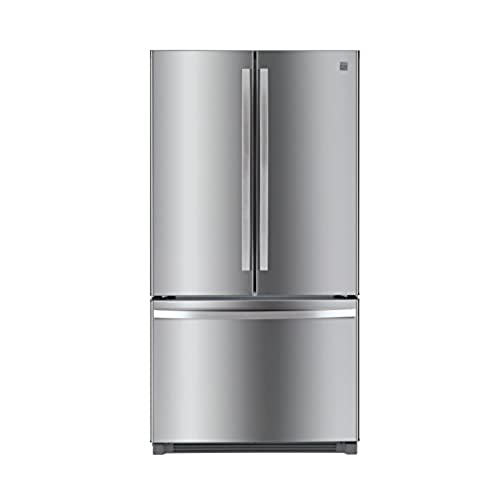 Non Dispense French Door Refrigerator In Stainless Steel With Active  Finish, Includes Delivery And Hookup