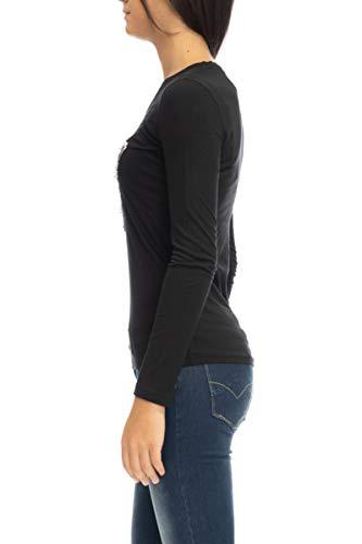 Jblk Les Noirs T W84i62 shirt Guess R5jk0 IwTqpBq