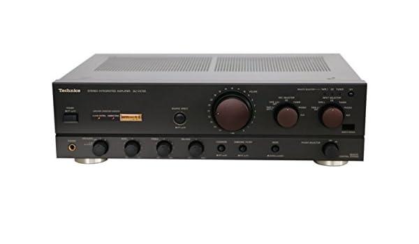Technics su de VX 720 Class AA Amplificador - Estéreo: Amazon.es: Electrónica