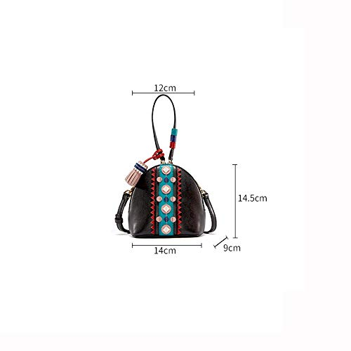 Bag in Donna Modello Moda Mini personalità Creativa A Tendenza Portatile Messenger Nappa Pelle Napa Borsa Selvaggia Tracolla Shell Borsa AqITqOw