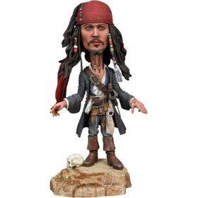 Pirates of the Carribean Dead Mans Chest Jack Head Knocker NECA 634482041628 213244