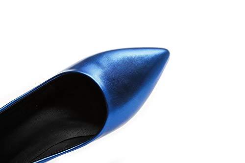 Blu 1TO9 MMS06224 35 Zeppa Sconosciuto Donna Blue Sandali con TZd7wqY
