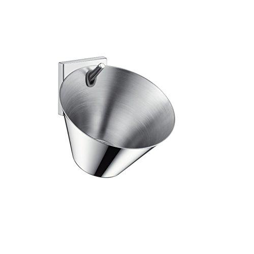- AXOR 42733000 Starck Organic Wall-Mounted Soap Dish, Chrome
