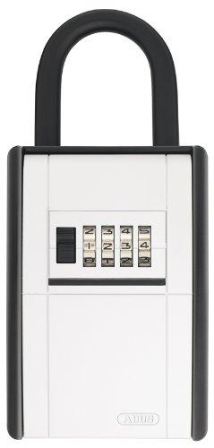ABUS Schlüsseltresor KeyGarage 797 mit Bügel, schwarz-silber, 46330