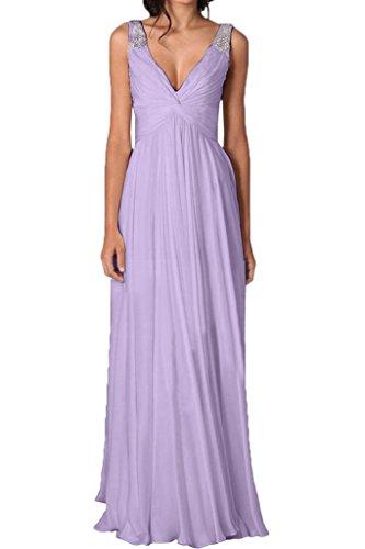 Traeger Promkleid V Ivydressing Mit Ausschnitt Partykleid Linie Festkleid Abendkleid Modern A Lavendel Damen Steine rqvSwxqY