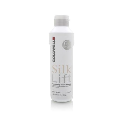 - Goldwell Silk Lift Conditioning Cream Developer 20 Volume 25.4oz