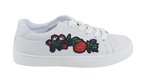 Blanco Shoes para by Mujer Zapatillas wqYIpgF