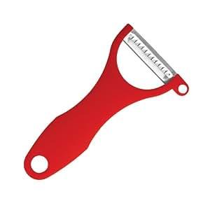 Swissmar Peeler Julienne Blade, Red