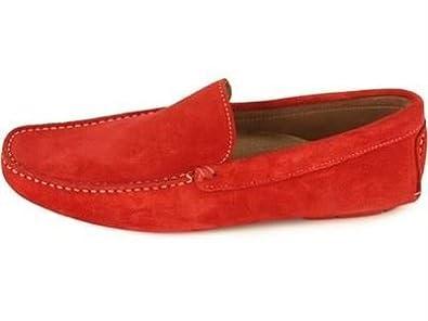 Gant - Mocasines de cuero para hombre rojo rojo 41.5 (8 UK)