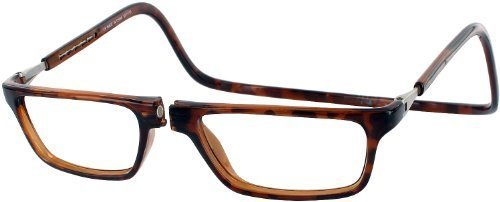Clic Executive Computer Style Progressive Designer Reading Glasses, Tortoise, +2.00 by - Store Tortoise Online