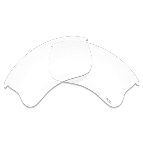 (Mryok+ Polarized Replacement Lenses for Oakley Flak Jacket XLJ - HD Clear)