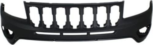 Crash Parts Plus Primed Front Bumper Cover Replacement for 2003-2007 GMC Sierra