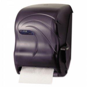 Oceans Lever Towel (San Jamar T1190TBK Oceans Paper Towel Dispenser, Roll, Black)