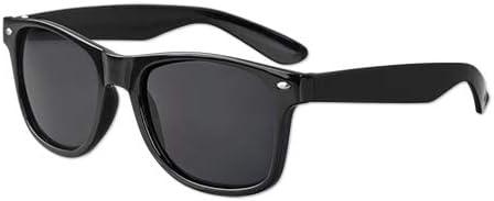 Black Iconic Sunglasses 12 Pack