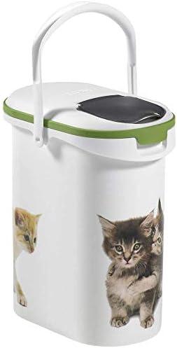 Curver 03904-P71-00 Pet-Futter Container 4 kg, 19.2 x 29.5 x 34.8 cm, 10 L