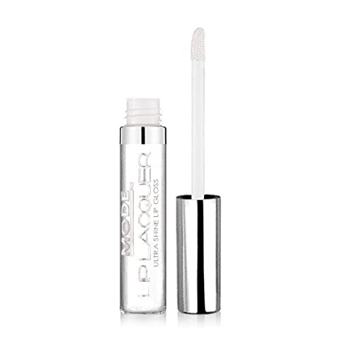 MODE Lip Lacquer UNDERCOVER (Glossy Wet Crystal Clear) Ultra Shine Lip Gloss, Long Lasting, Hydrating, Natural Moisturizing Sweet Almond + Refreshing Peppermint Essential Oil/Cruelty Free/MADE IN - Plump Sweet