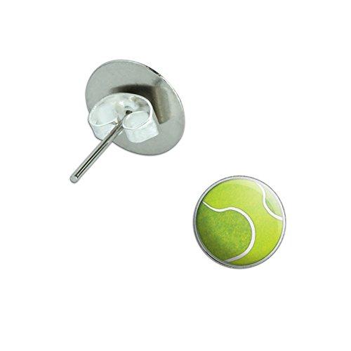 Tennis Sporting Sportsball Novelty Earrings