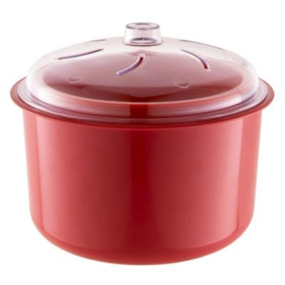 Lakeland Red Stain Proof Microwave Multi Rice & Vegetable Steamer 2.5L Easy cook