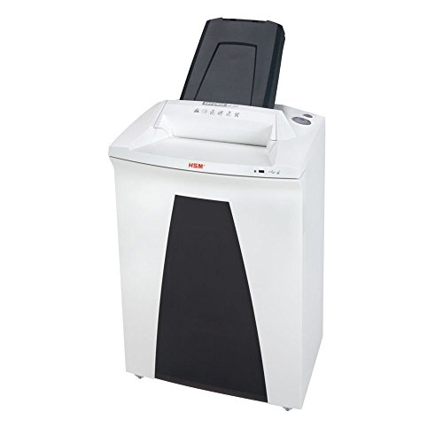HSM HSM2105 SECURIO AF500 L5 Cross-Cut Shredder with Automatic Paper Feed; Shreds up to 500 Automatically/7 manually; 21.7 Gallon Capacity