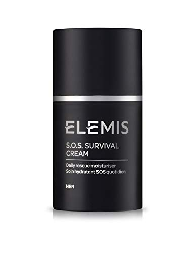 ELEMIS S.O.S Survival Cream - Daily Rescue Moisturizer for Men, 1.6 fl. oz