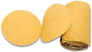 Karebac LR5C150 Grit Premium Gold 5-Inch PSA 150 Grit Discs Stearated C-Weight Aluminum Oxide , 100-Pack