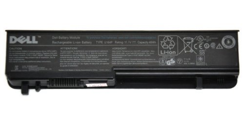 (Genuine original OEM 6 cell U164P N855P battery for Dell Studio 17, Studio 1745, Studio 1747, Studio 1749 Laptop)