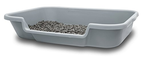 "PuppyGoHere Dog Litter Box Recycled Gray Color: 24""x20""x5"" Recycled Gray Colored Pans May Vary in Color. Marks May BE Present. See More Information in Description USA Made"