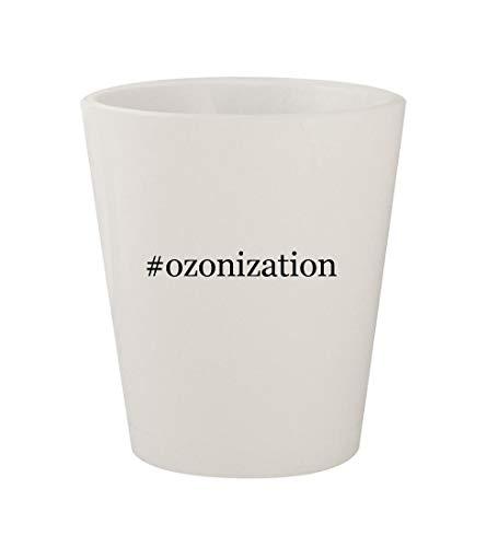 #ozonization - Ceramic White Hashtag 1.5oz Shot Glass ()