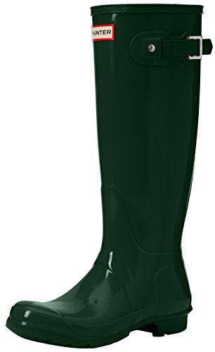 Women's Boots Unisex Rain Green Snow Hunter Boots Boots Tall Original Hunter Water Gloss ZCx6qZ5