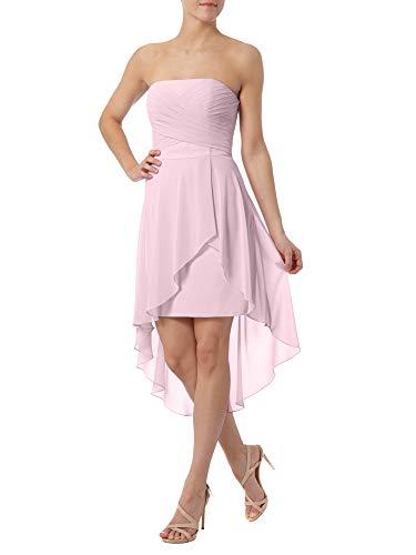 La Braut Kurz Partykleider Marie Brautjungfernkleider Mini Rosa Tanzenkleider Abendkleider 2 Traegerlos r5grFUn