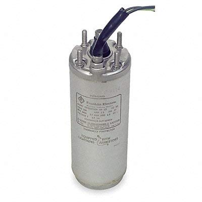 """Franklin 2145029004S 4"""" Submersible Water Well Motor, 1/3 HP, 115 V, 1 PH, 3 Wire"""