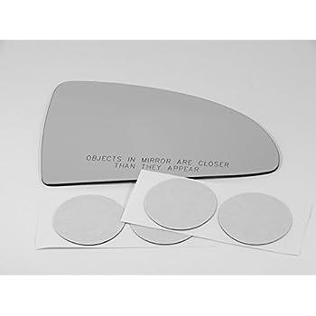 Fits 05-10 Chevy Cobalt 07-10 Pontiac G5 Right Pass Mirror Glass Lens w//adhesive