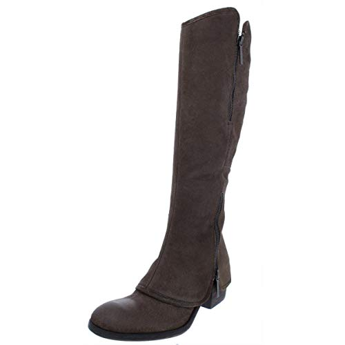 Donald J Pliner Womens Devi Suede Over-The-Knee Boots Taupe 8.5 Medium (B,M)